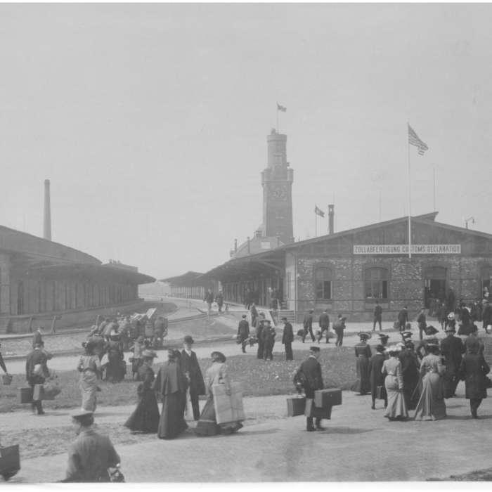 Hapag-Hallen am Steubenhöft Cuxhaven